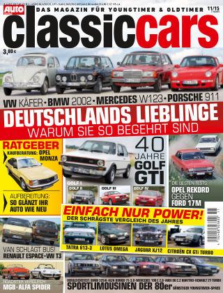 Auto Zeitung Classic Cars NR.11 2015