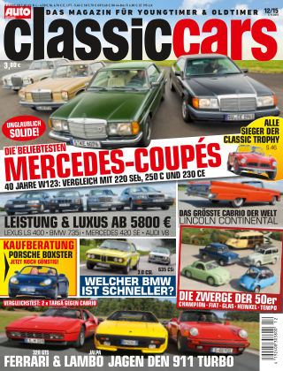 Auto Zeitung Classic Cars NR.12 2015