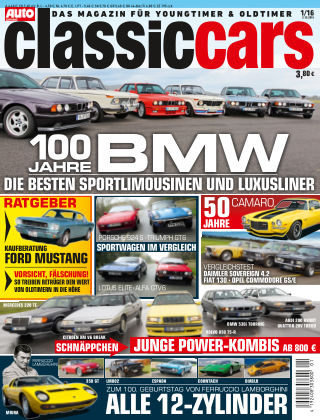 Auto Zeitung Classic Cars NR.01 2016