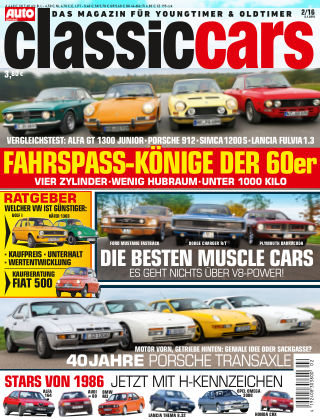 Auto Zeitung Classic Cars NR.02 2016