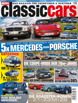 Auto Zeitung Classic Cars NR.03 2016