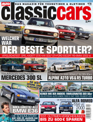 Auto Zeitung Classic Cars NR.04 2016