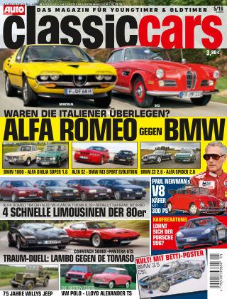 Auto Zeitung Classic Cars NR.05 2016