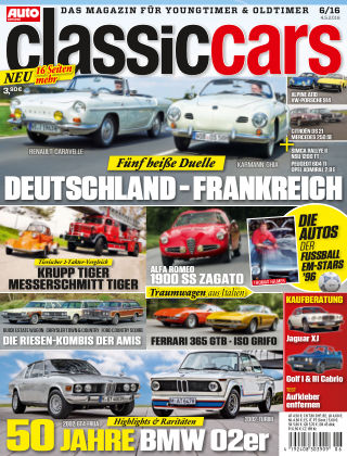 Auto Zeitung Classic Cars NR.06 2016