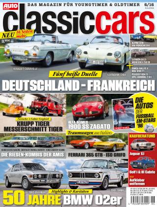 Auto Zeitung Classic Cars NR.06 2016