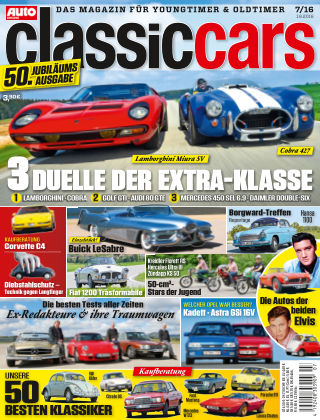 Auto Zeitung Classic Cars NR.07 2016