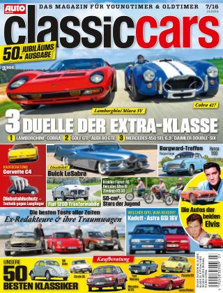 Auto Zeitung Classic Cars NR.07 2016