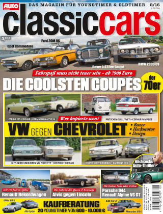 Auto Zeitung Classic Cars NR.08 2016