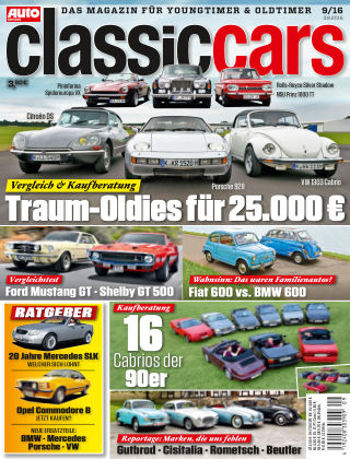 Auto Zeitung Classic Cars NR.09 2016