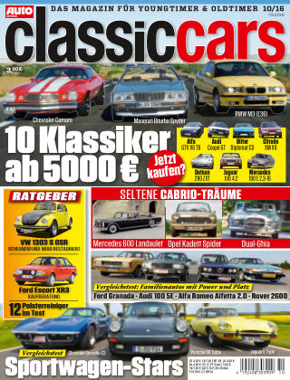 Auto Zeitung Classic Cars NR.10 2016