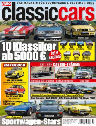 Auto Zeitung Classic Cars NR.10 2016