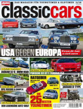 Auto Zeitung Classic Cars NR.11 2016