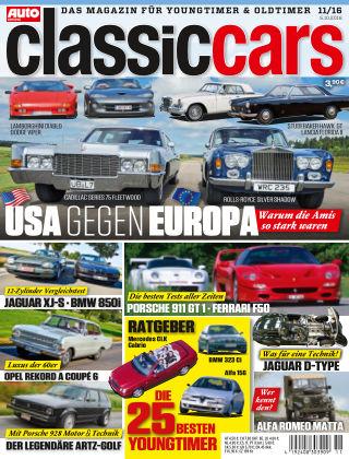 Auto Zeitung Classic Cars NR.11 2016
