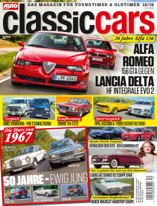 Auto Zeitung Classic Cars NR.12 2016