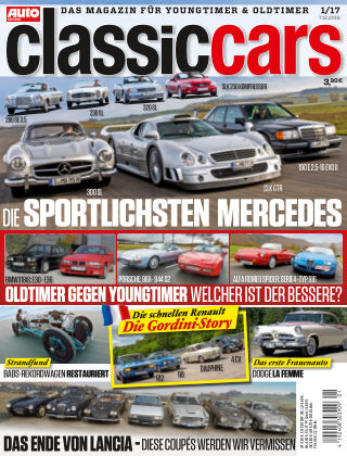 Auto Zeitung Classic Cars NR.01 2017