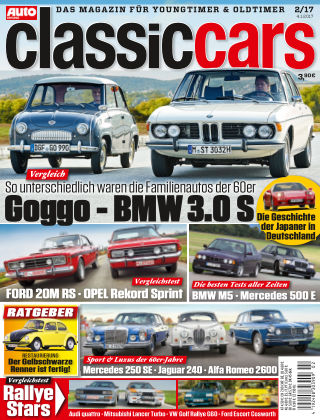 Auto Zeitung Classic Cars NR.02 2017