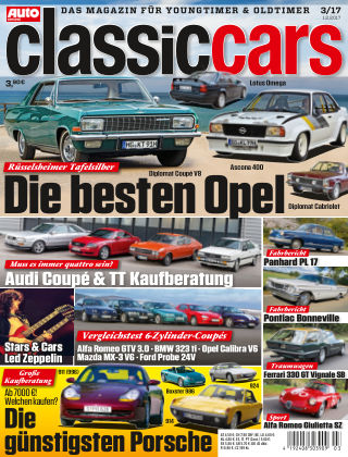 Auto Zeitung Classic Cars NR.03 2017