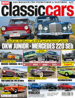 Auto Zeitung Classic Cars NR.04 2017
