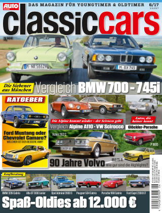 Auto Zeitung Classic Cars NR.06 2017