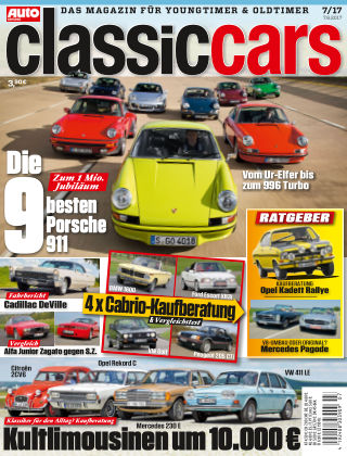 Auto Zeitung Classic Cars NR.07 2017