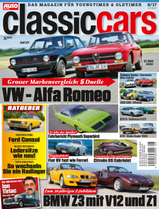Auto Zeitung Classic Cars NR.08 2017