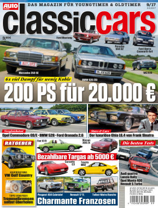 Auto Zeitung Classic Cars NR.09 2017