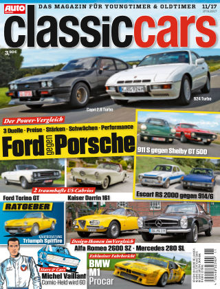 Auto Zeitung Classic Cars NR.11 2017