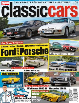 Auto Zeitung Classic Cars NR.11 2017