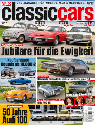 Auto Zeitung Classic Cars NR.12 2017