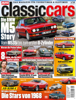 Auto Zeitung Classic Cars NR.01 2018