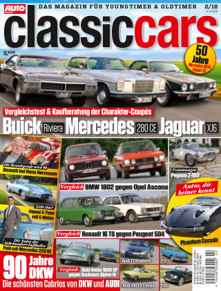Auto Zeitung Classic Cars NR.02 2018