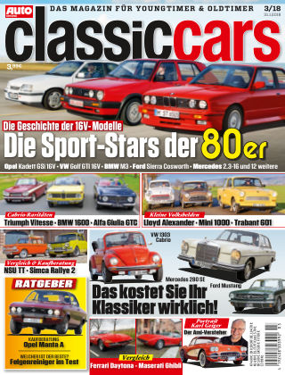 Auto Zeitung Classic Cars NR.03 2018