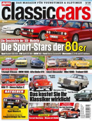 Auto Zeitung Classic Cars NR.03 2018