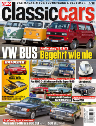 Auto Zeitung Classic Cars NR.04 2018