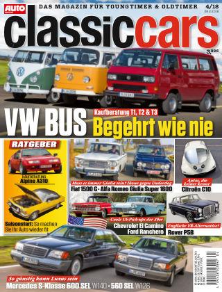 Auto Zeitung Classic Cars NR.04 2018