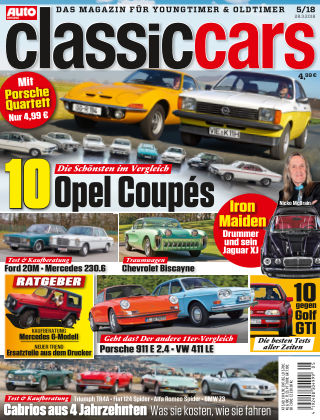 Auto Zeitung Classic Cars NR.05 2018