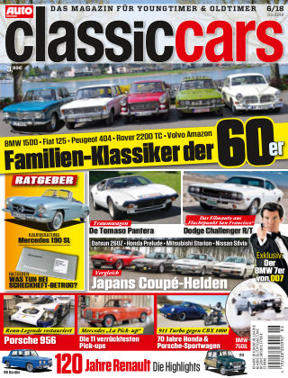 Auto Zeitung Classic Cars NR.06 2018