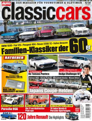 Auto Zeitung Classic Cars NR.06 2018