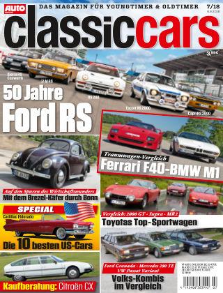 Auto Zeitung Classic Cars NR.07 2018