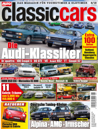 Auto Zeitung Classic Cars NR.08 2018