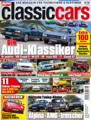 Auto Zeitung Classic Cars NR.08 2018