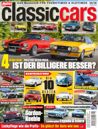 Auto Zeitung Classic Cars NR.10 2018