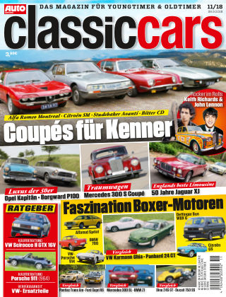 Auto Zeitung Classic Cars NR.11 2018