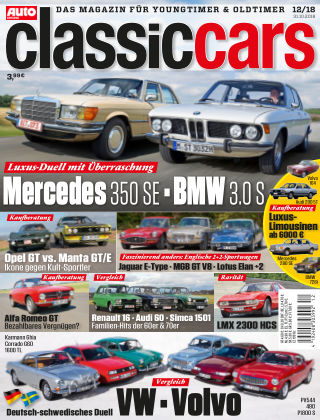 Auto Zeitung Classic Cars NR.12 2018