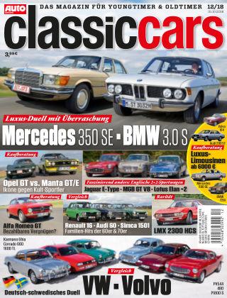 Auto Zeitung Classic Cars NR.12 2018