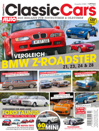 Auto Zeitung Classic Cars NR.03 2019