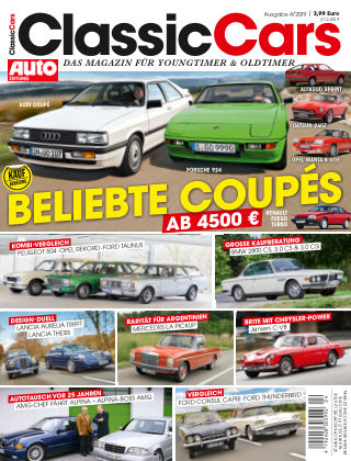 Auto Zeitung Classic Cars NR.04 2019