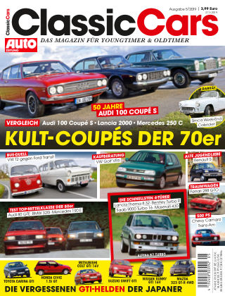 Auto Zeitung Classic Cars NR.05 2019