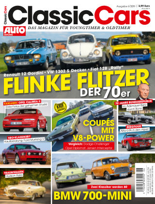 Auto Zeitung Classic Cars NR.06 2019