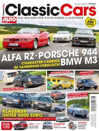 Auto Zeitung Classic Cars NR.08 2019